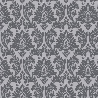 Graham Brown Majestic Grey Removable Wallpaper 30 437 Grey