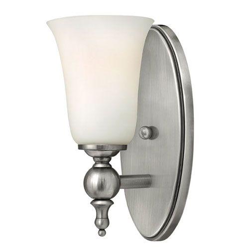Hinkley Yorktown Antique Nickel Bathroom Light 5740an Bellacor Wall Sconce Lighting Sconces Hinkley Lighting