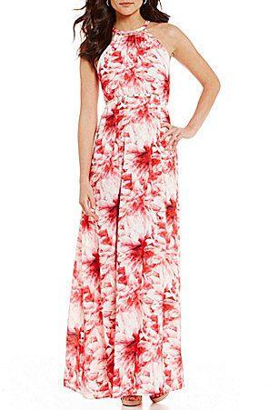 Antonio Melani Derry Printed Maxi Dress Dresses Pinterest