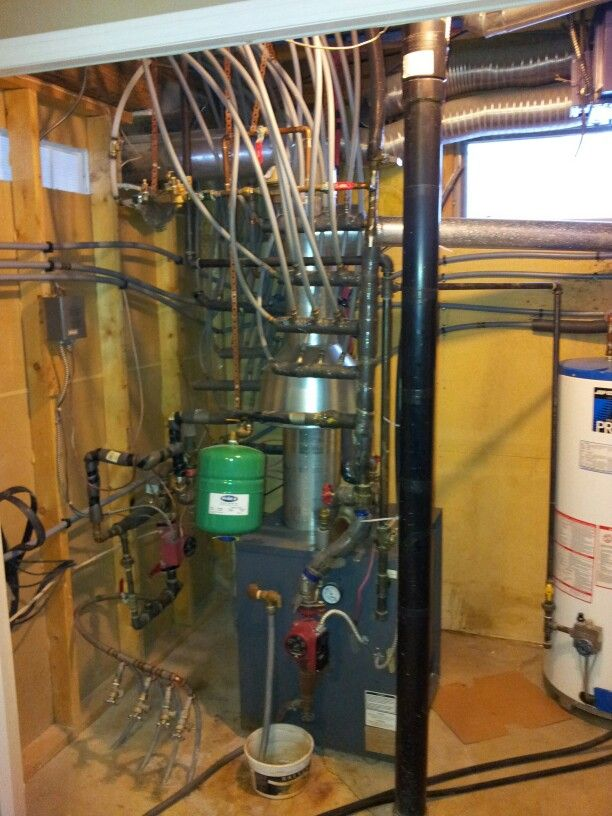 Old mid-efficient boiler system, poorly installed! | Hydronic ...