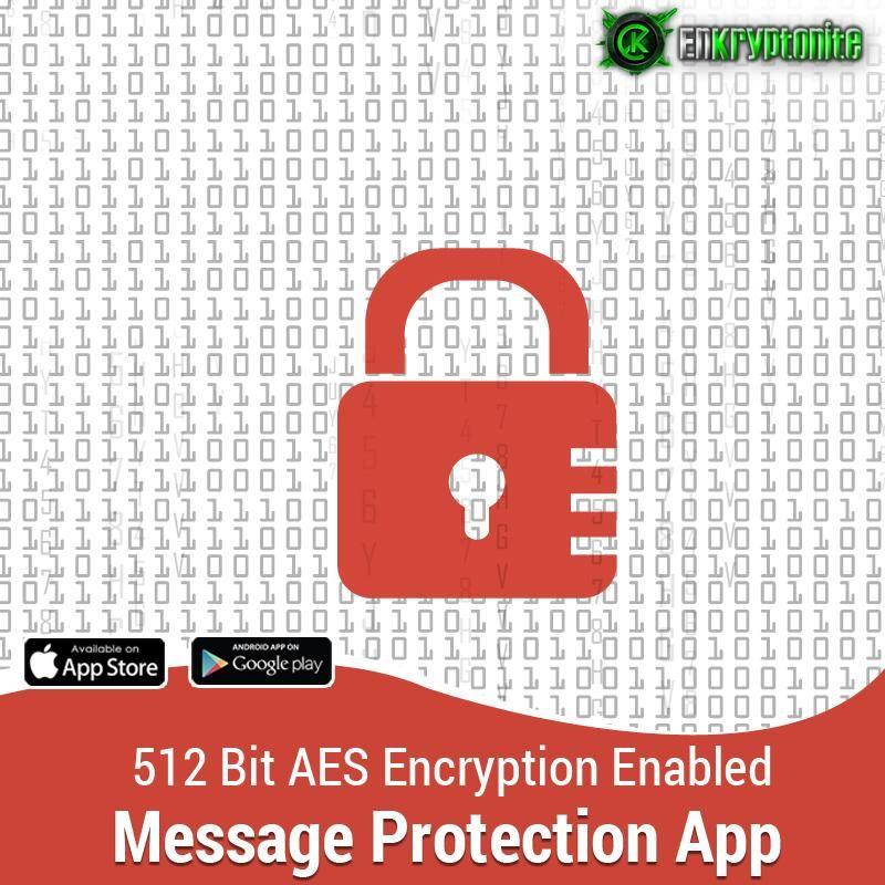 512 Bit encryption enabled   Enkryptonite App   Iphone, App