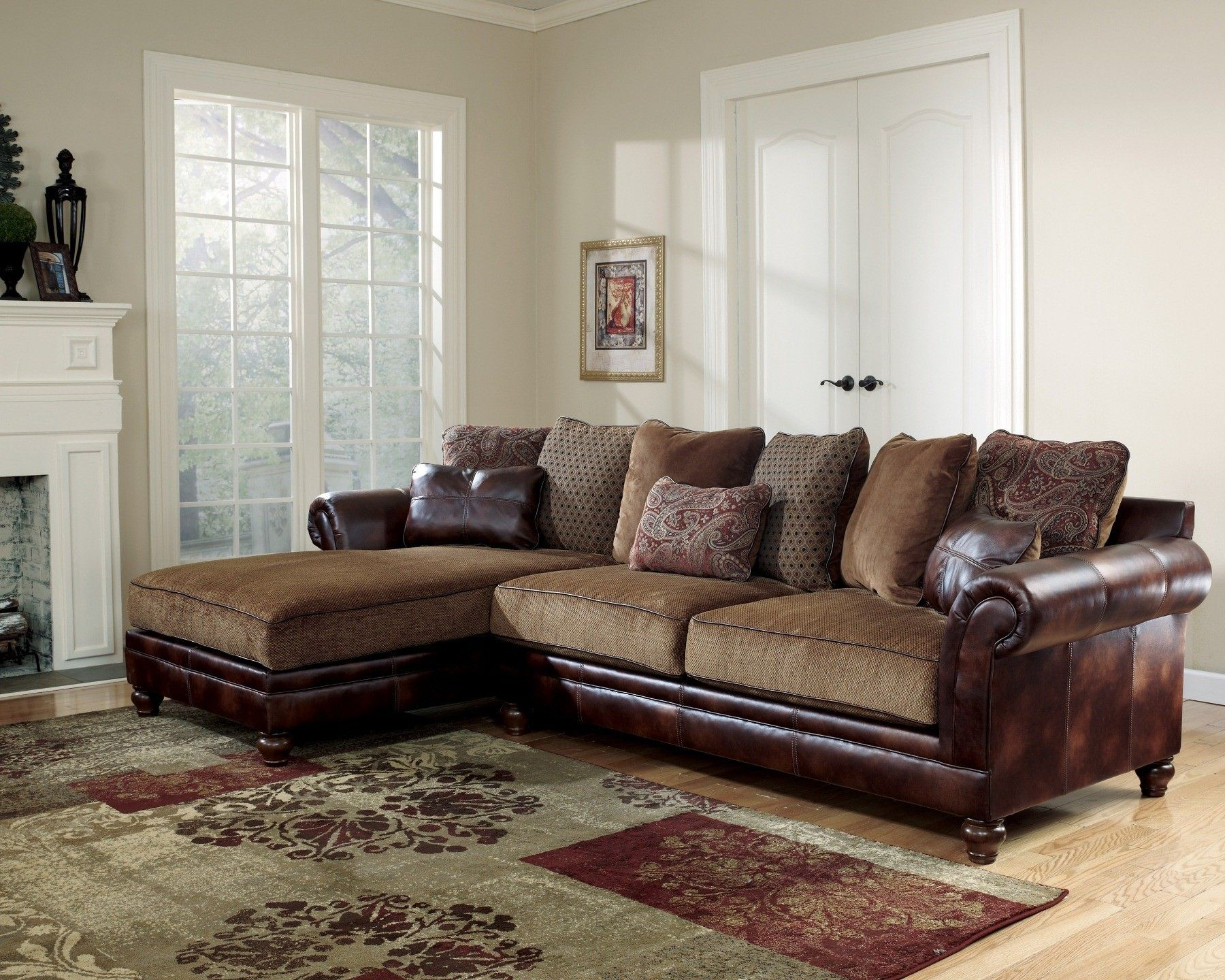 Hartwell Canyon Left Corner Chaise Sectional Furniture Living Room Sectional Rooms Home Decor
