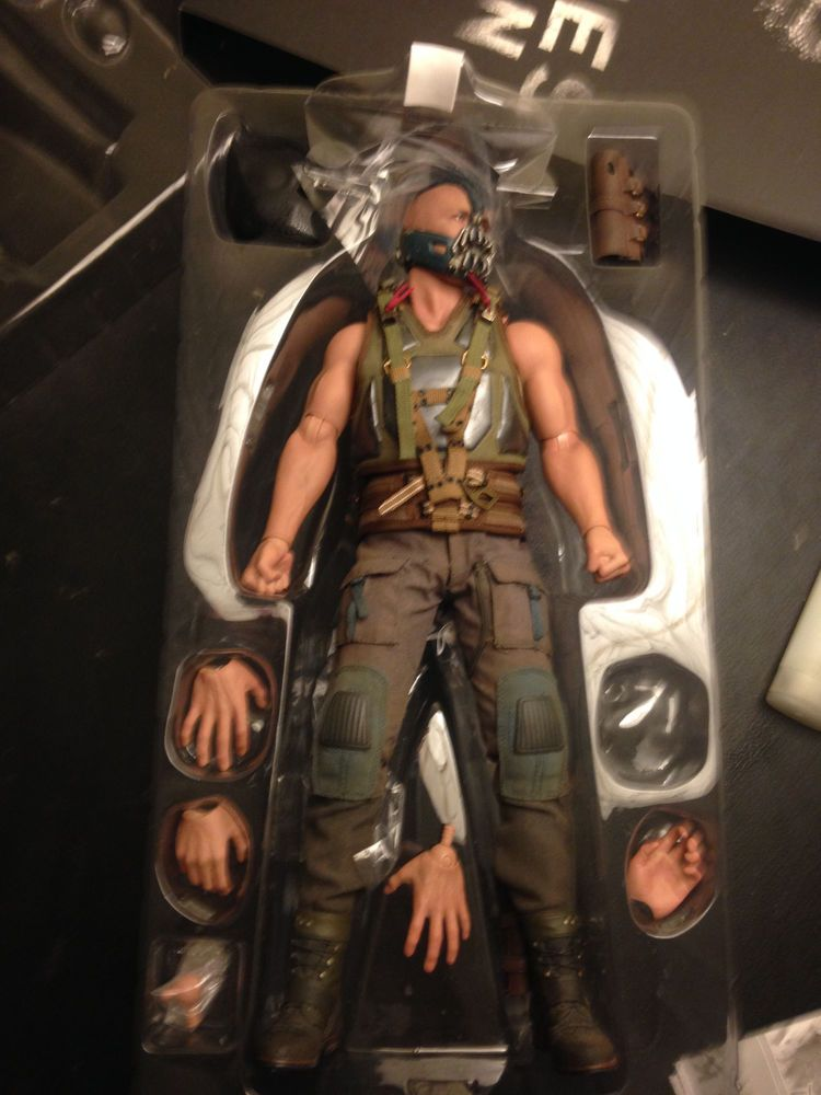 Hot Toys MMS183 The Dark Knight Rises Bane 1/6 Scale ...