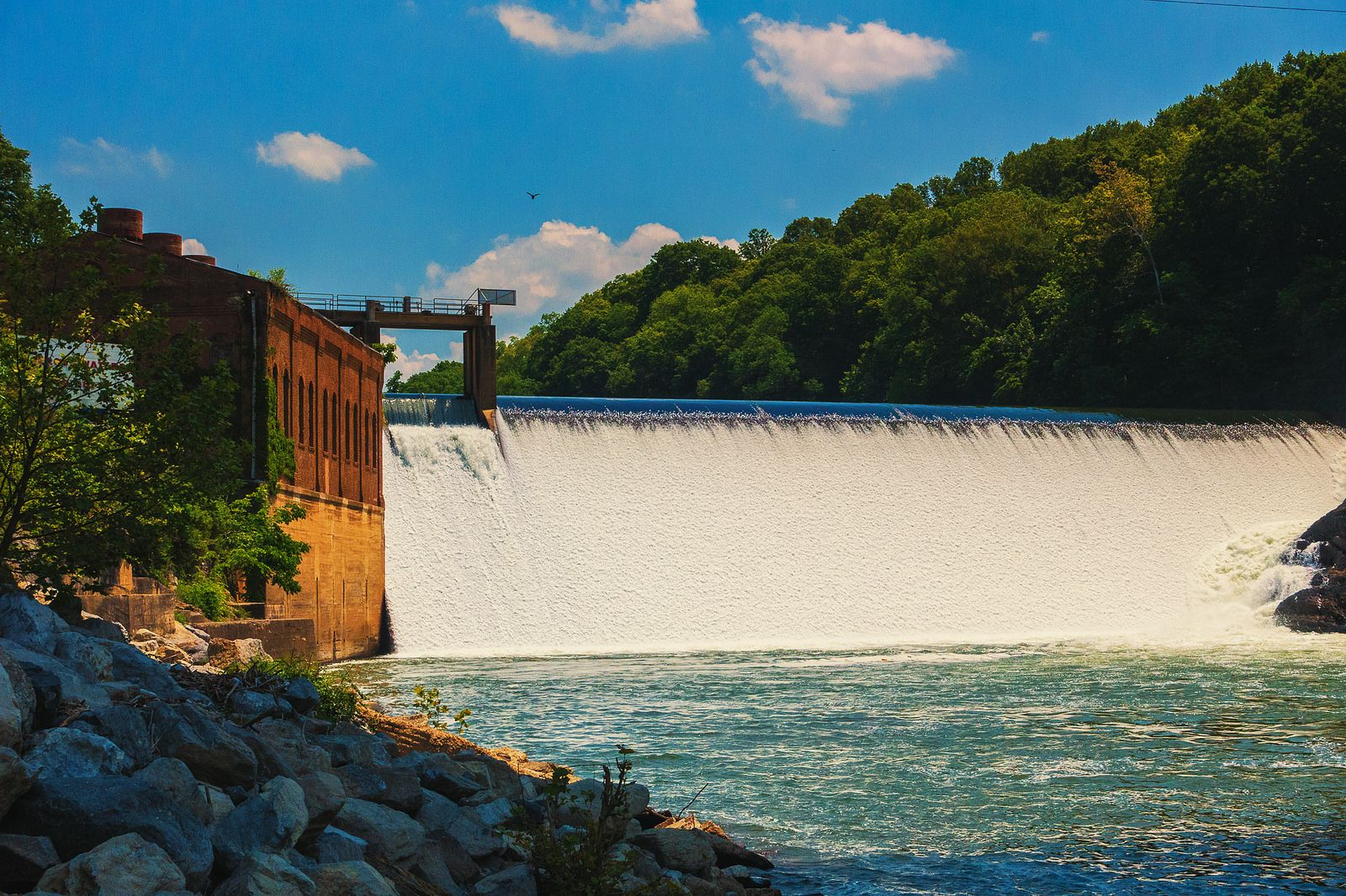 https://flic.kr/p/sFiHmC   Davy Crockett Dam   Nolichucky River, TN