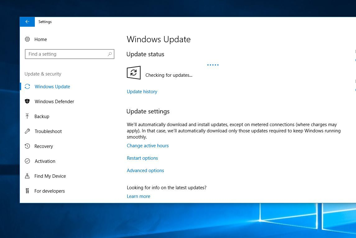 Reset Windows Update components on Windows 10 to fix