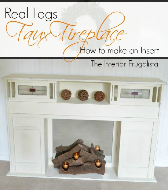 Faux fireplace and Fireplace inserts