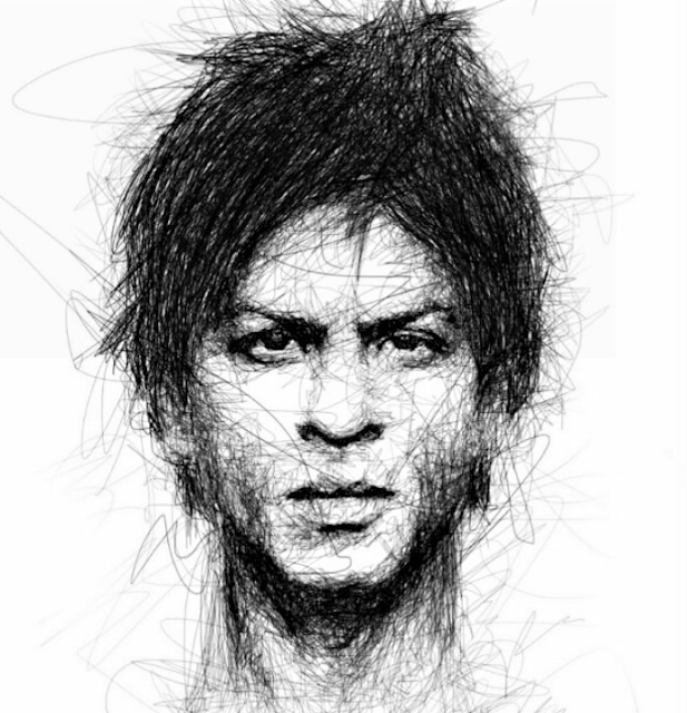 Shah Rukh Khan (King of Bollywood)   Portrait, Portrait ...