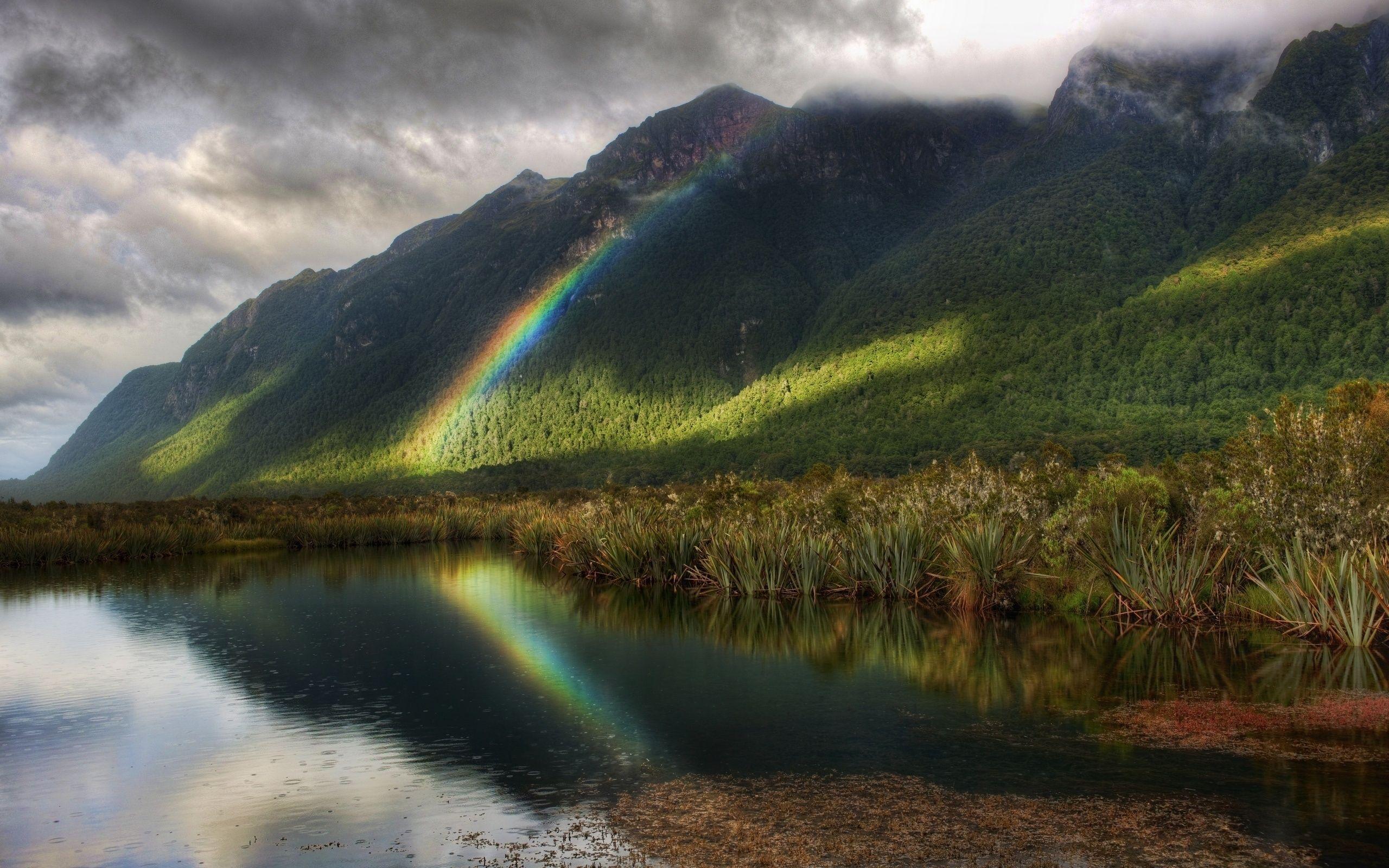 Самая красивая радуга картинки