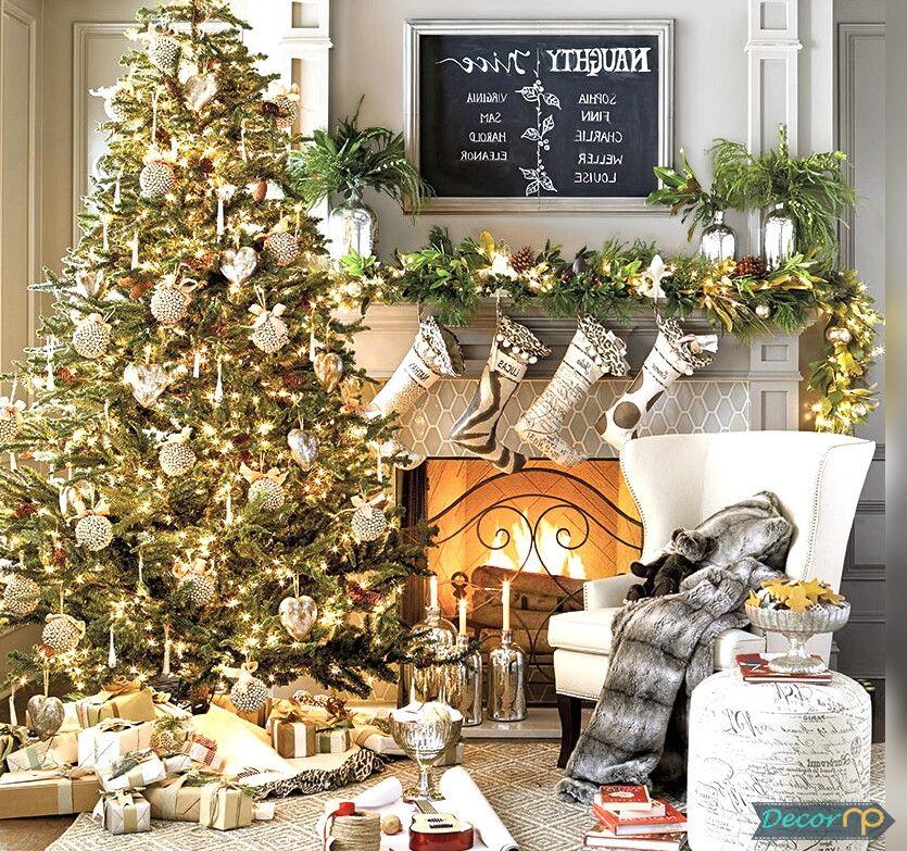 Christmas Home Decor 2019.Christmas 2019 Home Decoration Ideas Christmas Decorations