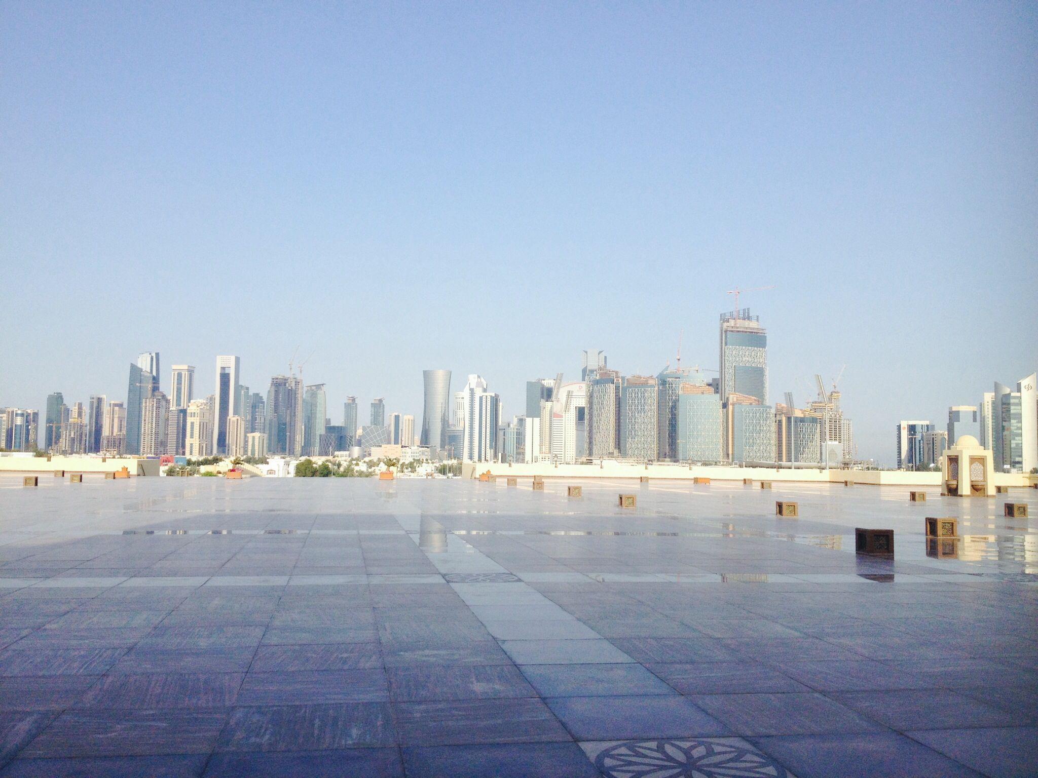 Sky line Doha, Qatar
