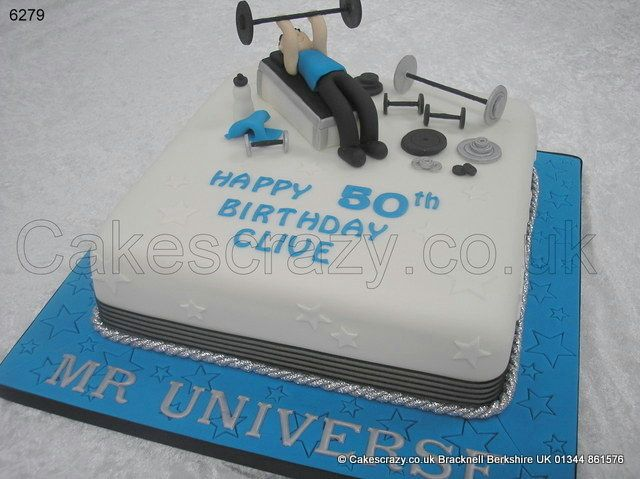 Weights Lifting Cake Http Www Cakescrazy Co Uk Details