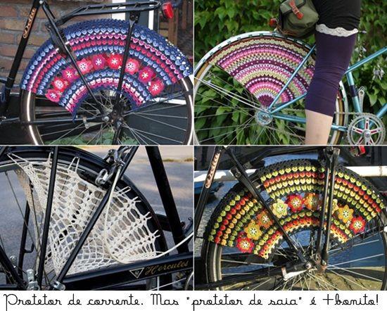 Crochet for bikes #1 - By www.dcoracao.com ... Great Vivianne!