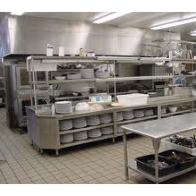 Another Piece Of My Dream Restaurant Kitchen