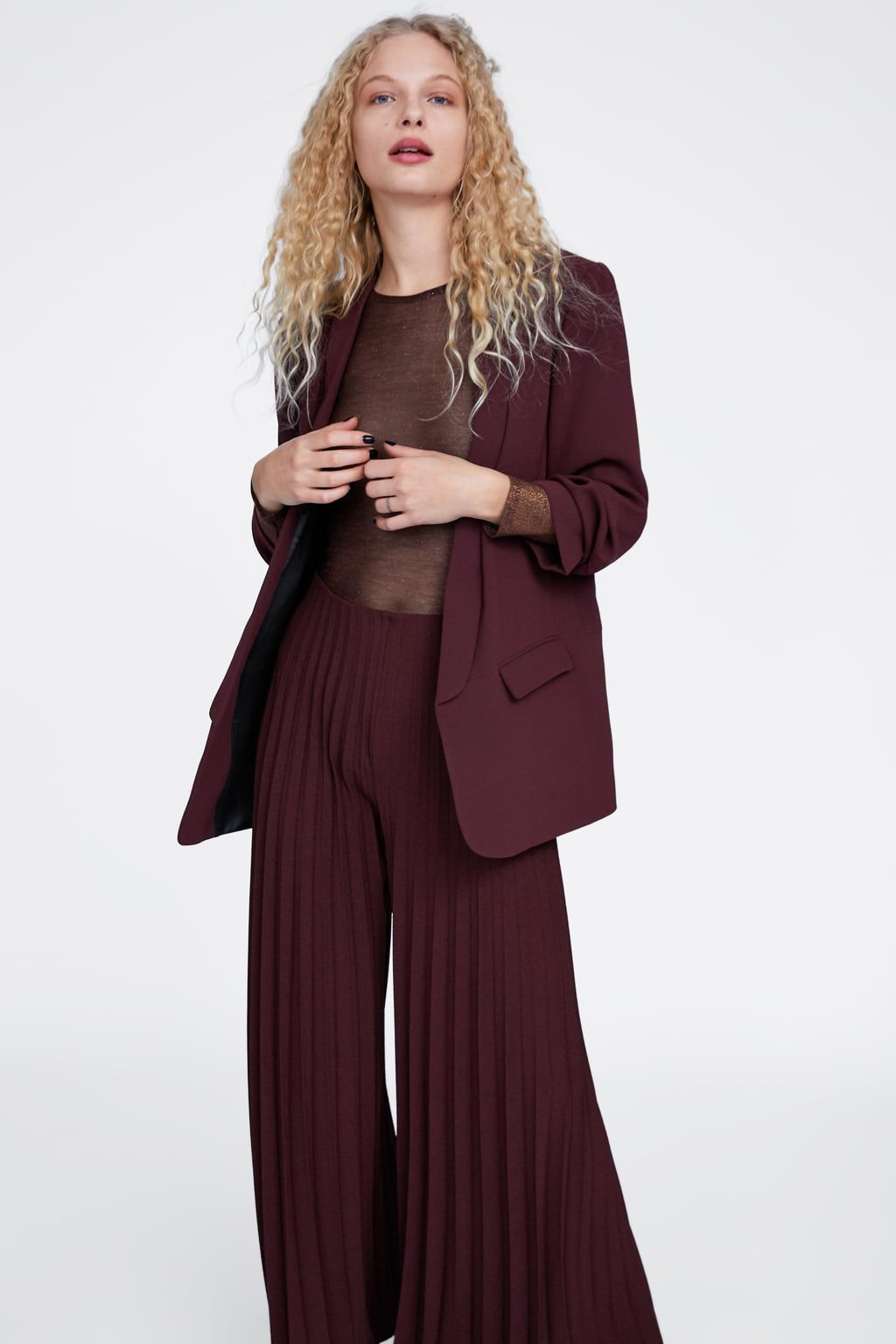 7304ae6104 Pleated wide leg pants in 2019 | #StyleCrush | Wide leg pants, Pants ...
