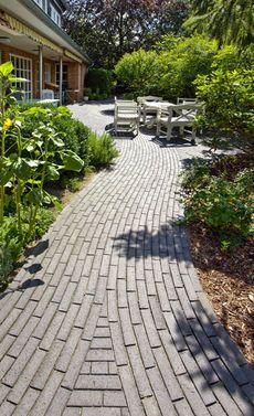 Wege Aus Klinkerstein Terrasse Pinterest Pflaster Garten Und
