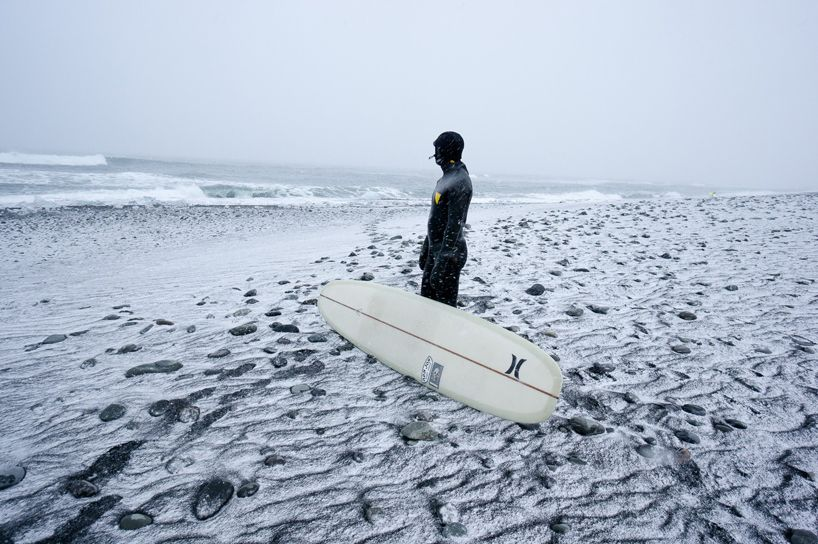 Chris Burkard #iceland #surf Cold water surfing, winter surf, surf en eau froide