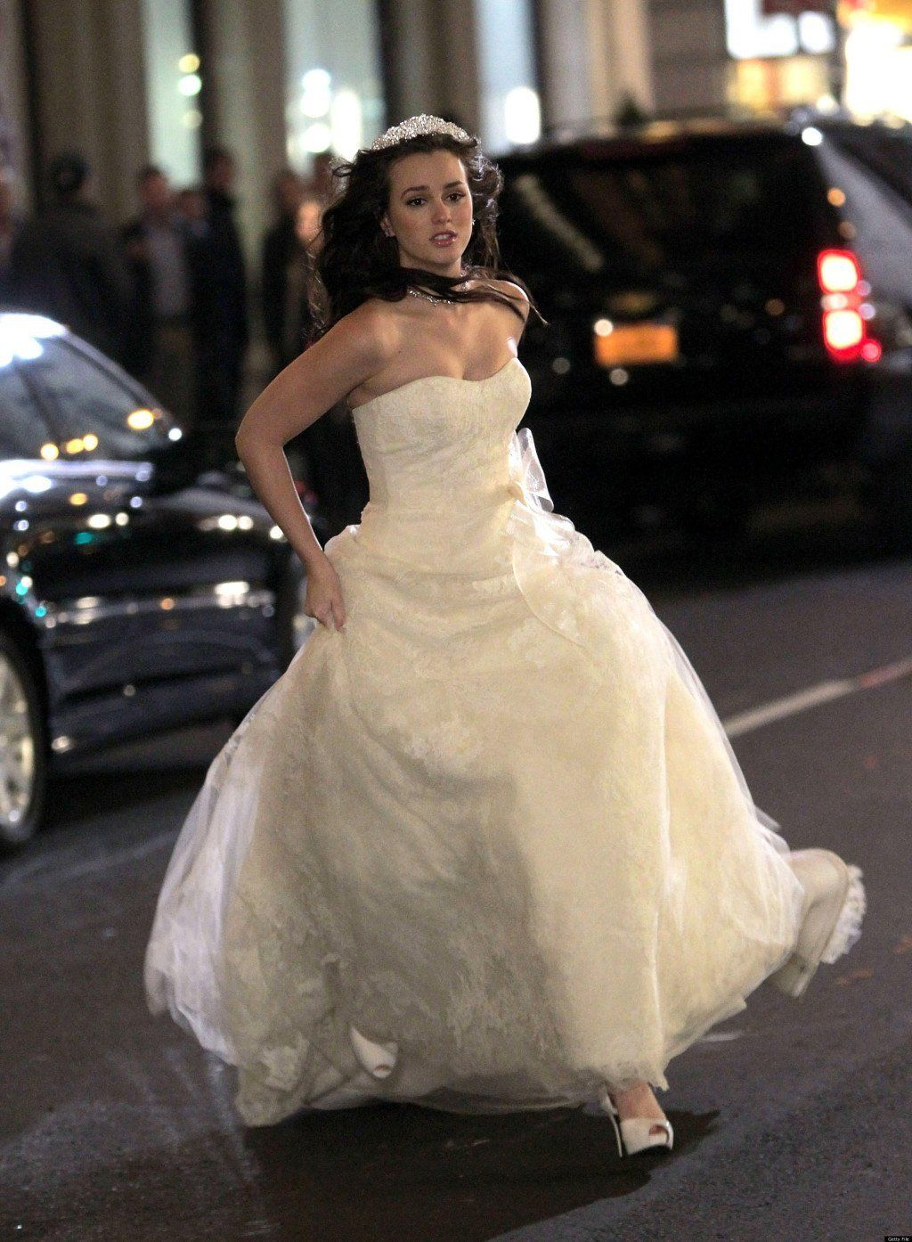 When she ran away from her wedding to the Prince of Monaco. Times ...
