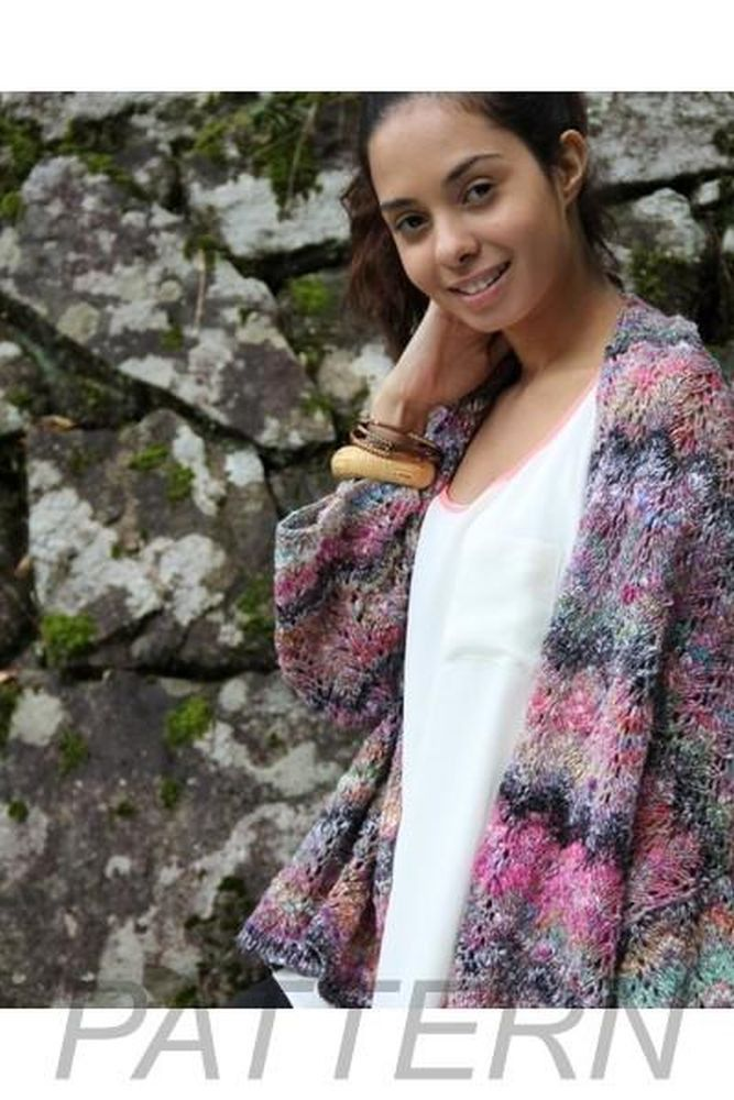 28fdf0e7b272 Noro Ladies  Jacket PATTERN ONLY