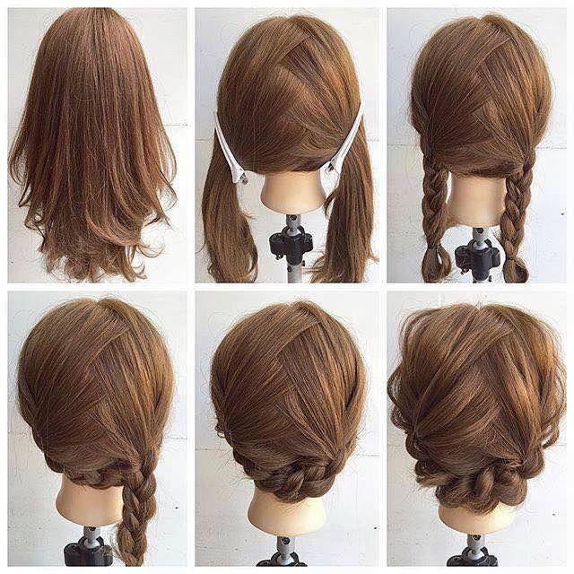 braid hairstyle shoulder length
