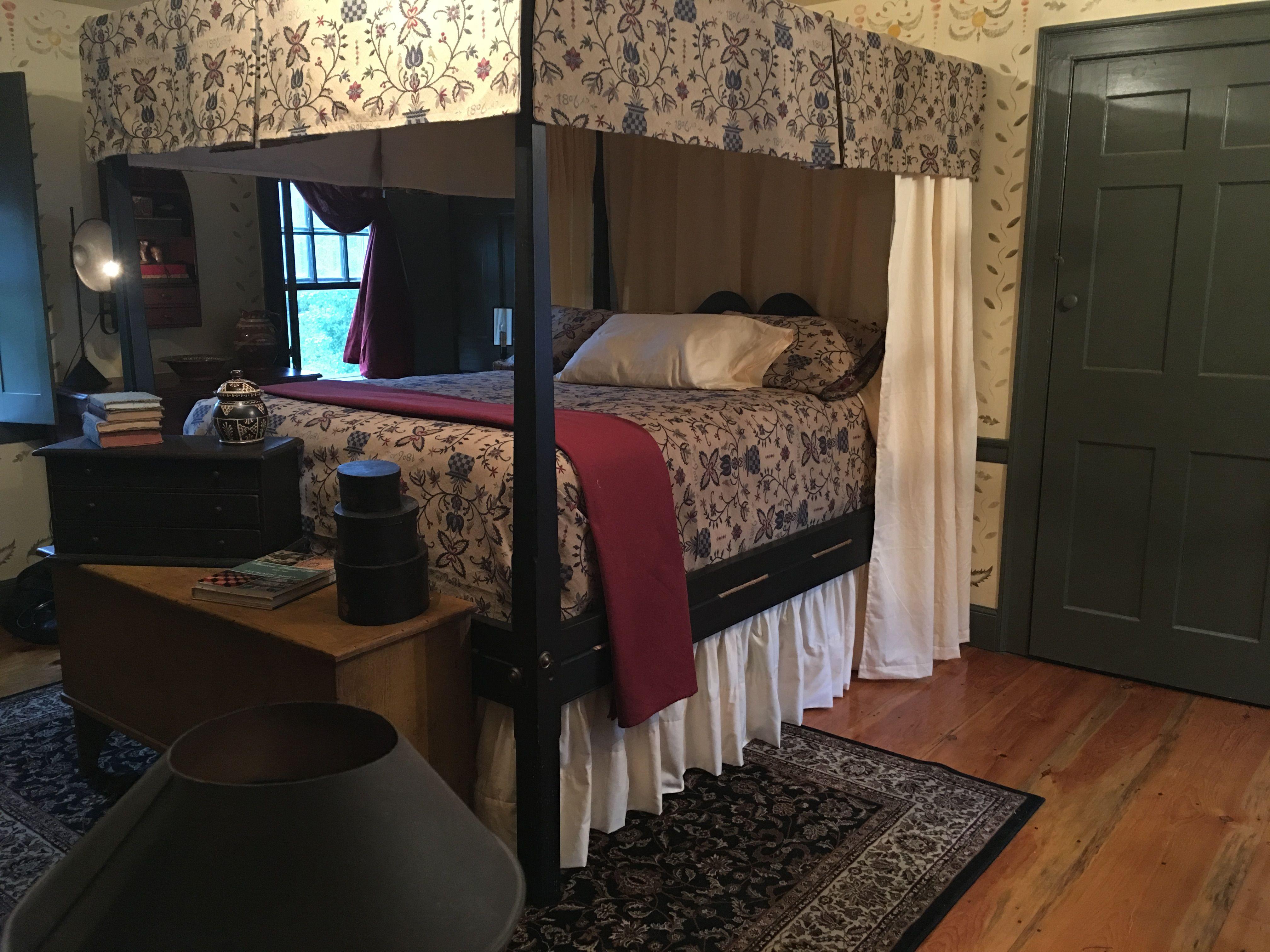 primitive bedroom. Primitive Bedroom  Colonial Decorating Canopy Beds Dream Rooms Sleep Tight Primitives Coast Farmhouse Poster Pin by Debi Skolas on HOME SWEET Pinterest
