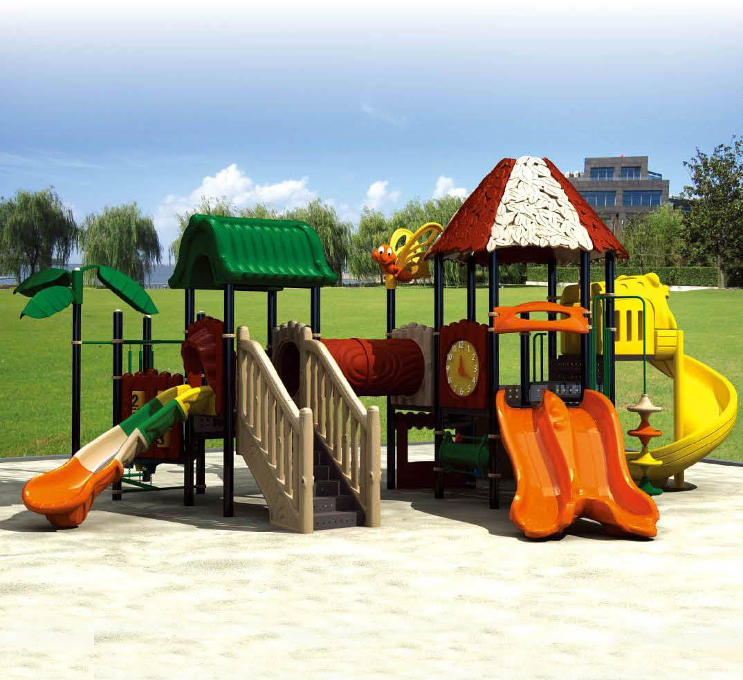 kids plastic playhouse in 2020 | Playground set, Play ...