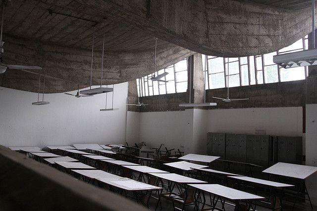le corbusier s school of architecture chandigarh india