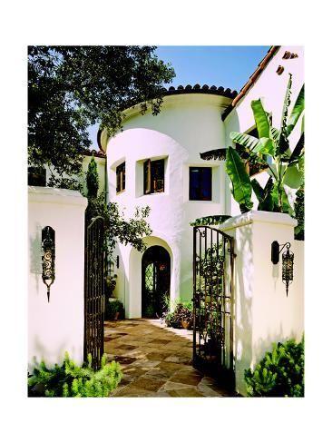 'Architectural Digest' Premium Photographic Print - Mary E. Nichols | Art.com