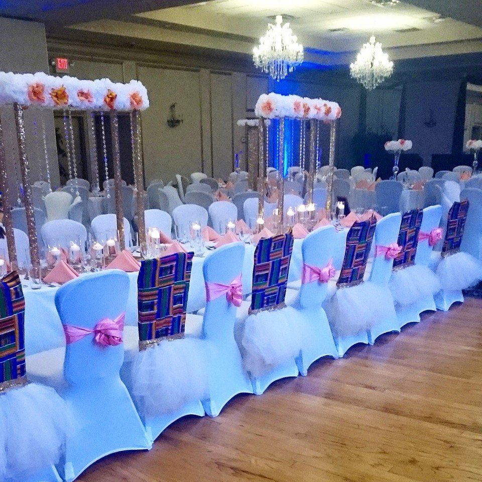 I Do Ghana Gorgeous Kente Themed Wedding Decor By