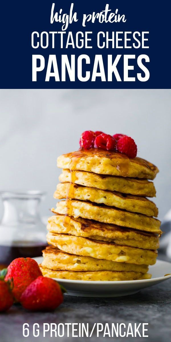 Cottage Cheese Pancakes -