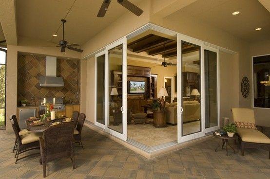 Pgt Industries Custom Windows Doors And Enclosure Systems Sliding Glass Door Glass Door Sliding Doors Exterior