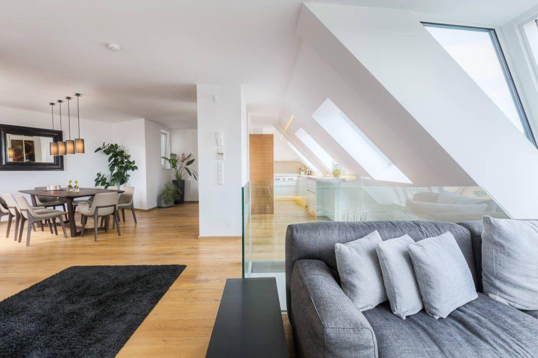 So wohnt man stilvoll unterm Dach | Schöne Wohnideen | Wohnen ...