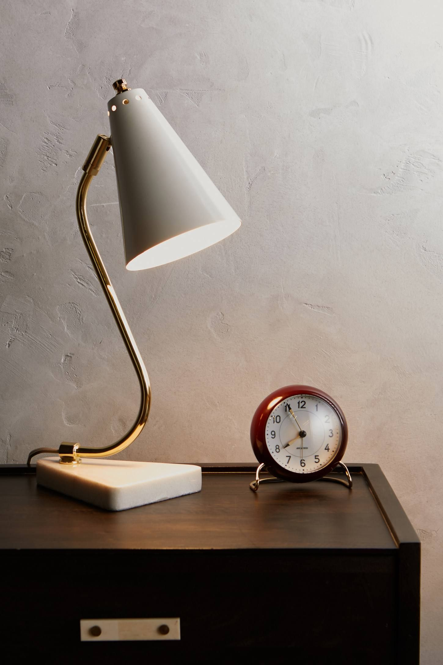 Brass Axis Task Lamp