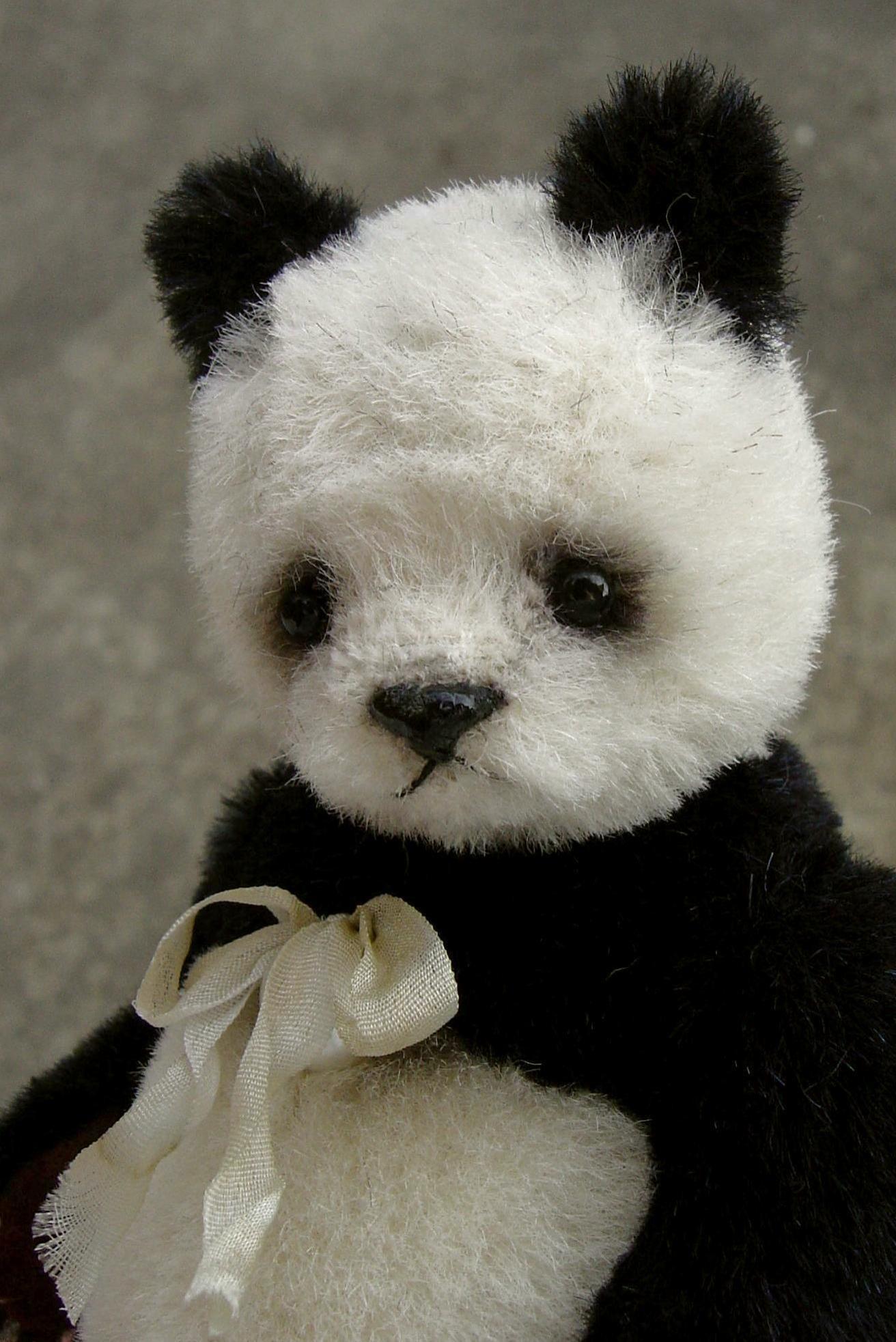 Love stuffed Panda Bears Had one as a little girl