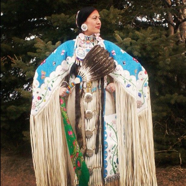 Wow. Someone I know did a dress like this, starting in September and finishing in May...9 months of Cold Minnesota Red Lake Indian Reservation weather to get it done!