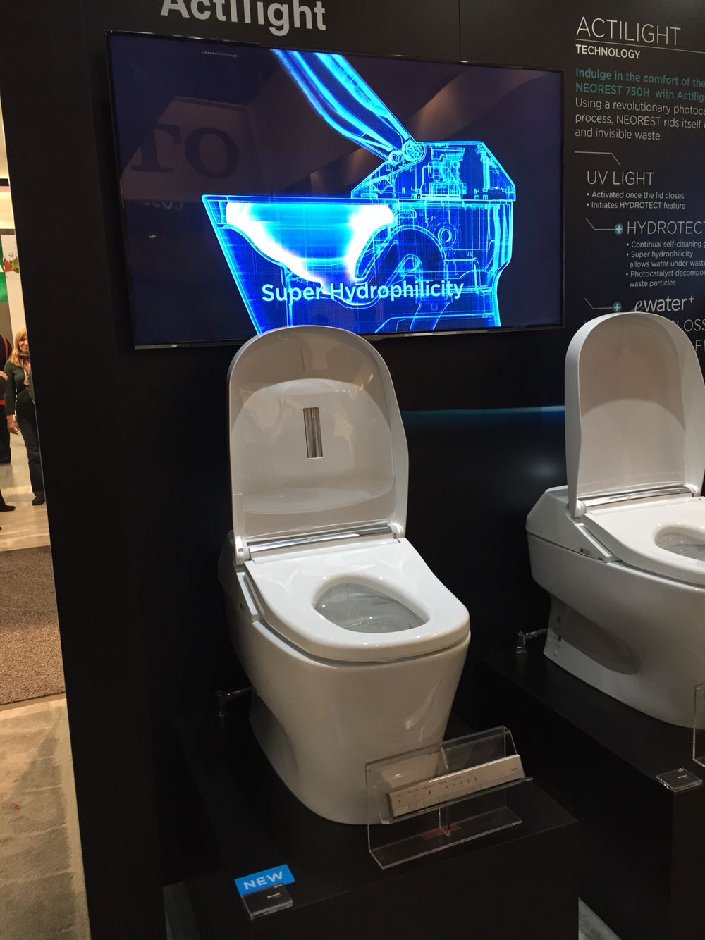 New self-cleaning toilet from Toto, $9,800. Yes, $9,800 ...