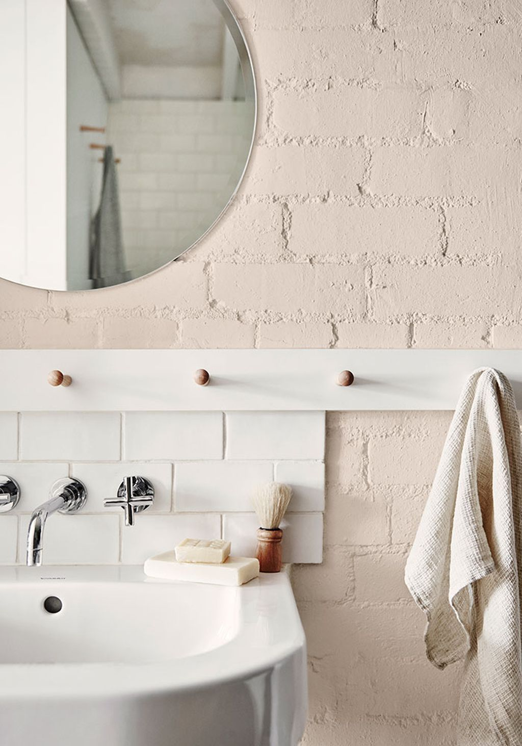 20+ White Brick Wall Ideas to Change your Room Look Great | Subway ...