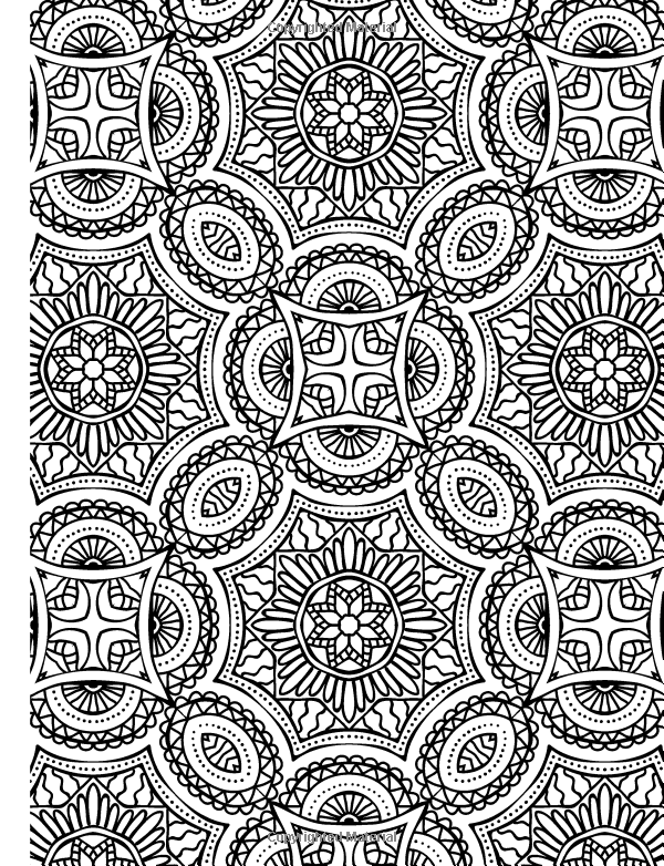Abstract Doodle Zentangle Paisley