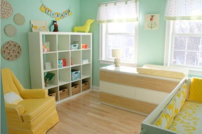 ide chambre bebe jaune et bleu - Recherche Google | Chambre Bébé ...