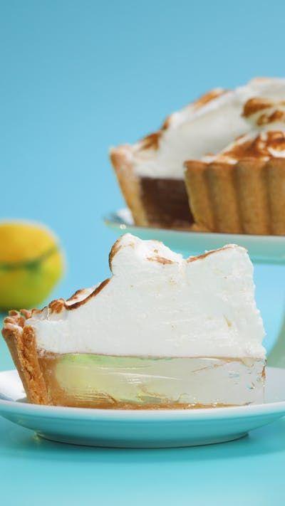 Clear Lemon Meringue Pie #lemonmeringuepie