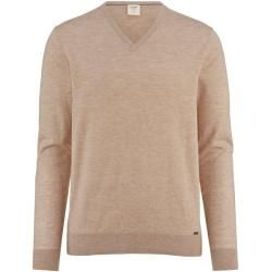 Photo of Olymp Level Five Strick Pullover, body fit, Natur, L Olympolymp