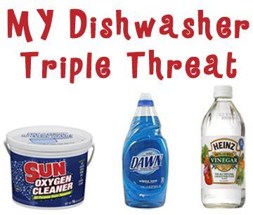 Homemade dishwasher det
