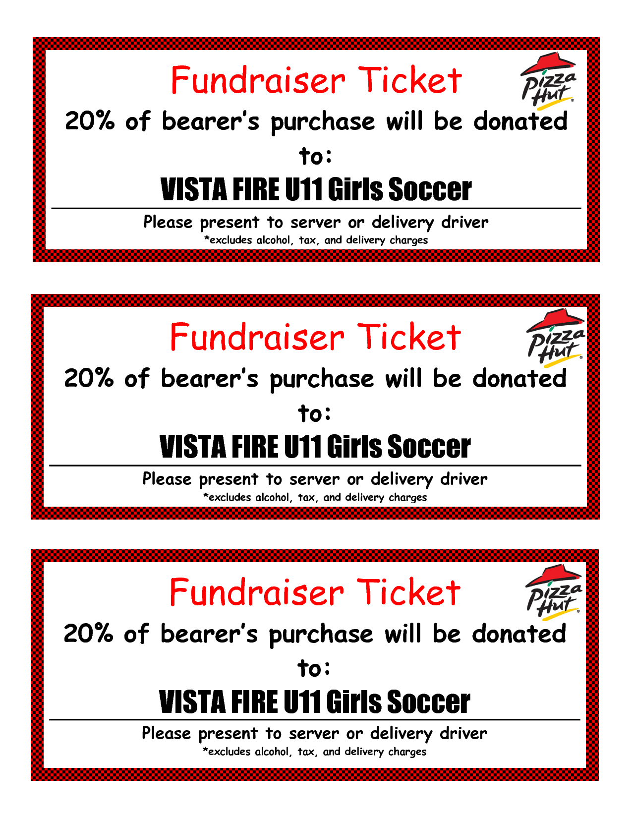 free fundraiser ticket template