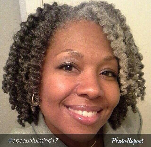 African American Salt And Pepper Hairstyles