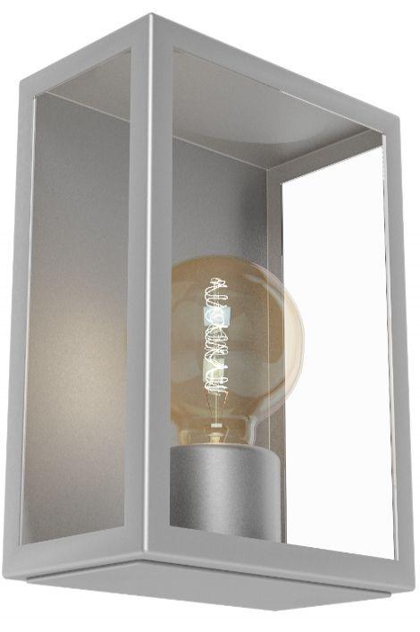 Artikel 11095 Sfeervolle buitenlamp welke bestaat uit een armatuur van helder glas en roestvast stalen randen. Het frame is gemaakt van RVS. Door het open armatuur is de lichtopbrengst optimaal benut. Voor het meest sfeervolle resultaat adviseren wij u het gebruik van een heldere sierlamp.  http://www.rietveldlicht.nl/artikel/wandlamp-11095-klassiek-staalgrijs-glas-helder_glas-staal_rvs-rechthoekig