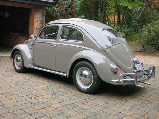 Stock Look Oval Sleeper 1956 Vw Beetle W Dual Carb 1776 Volkswagen Beetle Vw Beetle Classic Vw Beetles