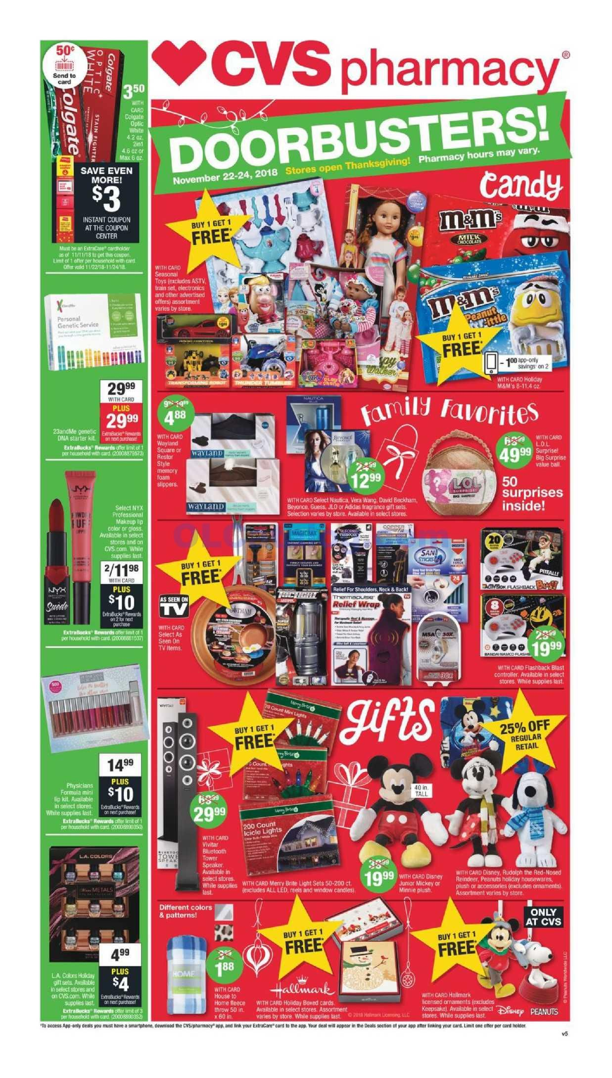 Cvs Black Friday Ad Flyer 2018