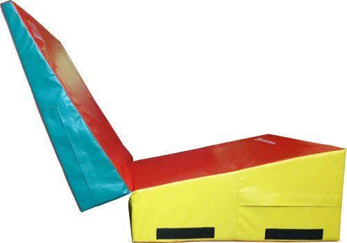 """We Sell Mats Gymnastics Folding Incline Tumbling Skill Shape Mat, 3' Wide x 6' Long x 16"""" High by We Sell Mats. $274.00. High Quality Tough 18oz Vinyl Surface is easy to Clean. Includes one 36""""x72""""x16"""" Folding Incline Tumbling Mat. Folds for easy Storage. Includes Hook and Loop Fastener Patches on side for Connecting Several Mats Together. Perfect for Gyms at Home, Schools, or Private Studios. Includes one 36""""x72""""x16"""" Folding Incline Tumbling Mat. High Quality T..."""