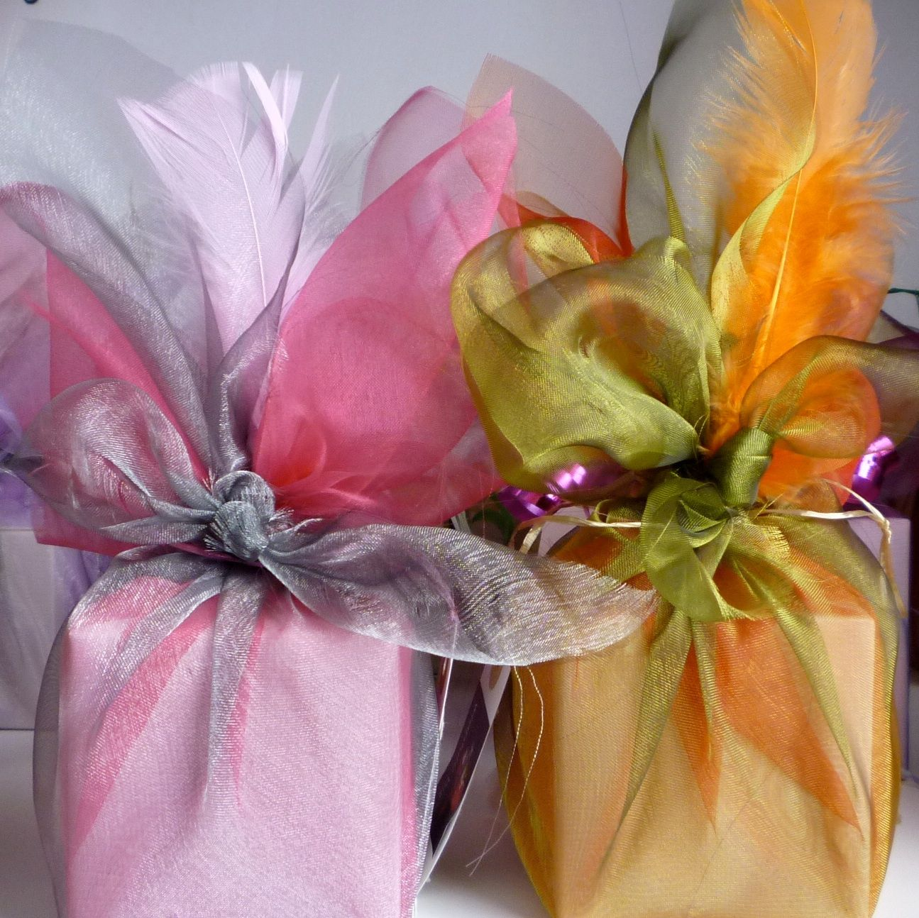 Organza Wraps Wedding Gift Wrapping Gift Wrapping Creative Gift Wrapping