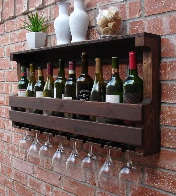 wine cellar wood door glasses / free shipping promo instag ...
