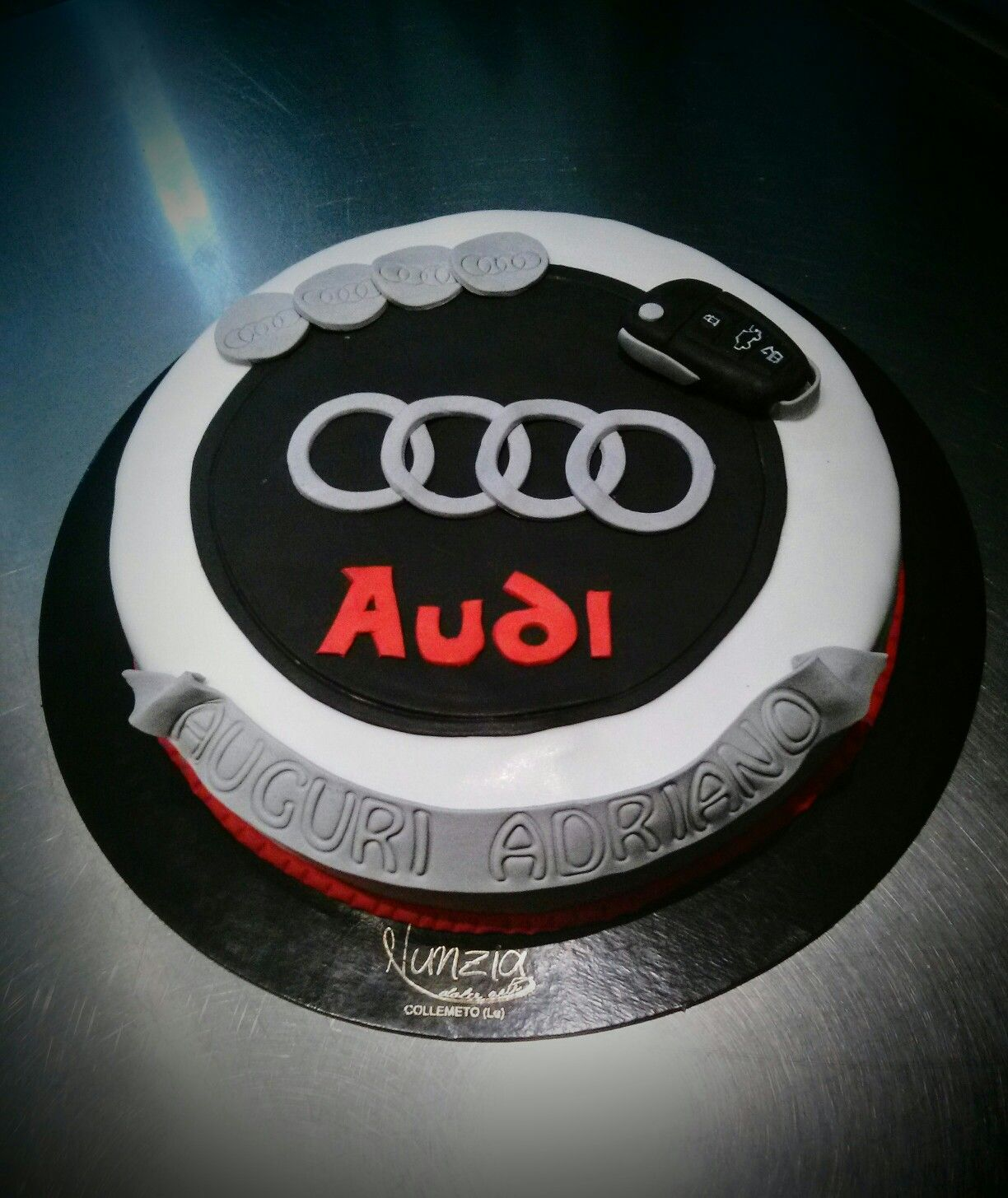 Kuchen Deko Name Torta Decorata Cake Design Audi Cake Black Cars In 2019